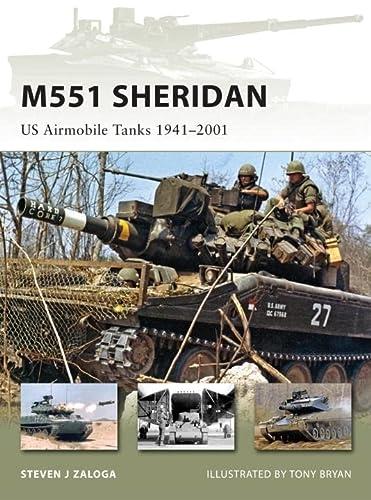 9781846033919: M551 Sheridan: US Airmobile Tanks 1941–2001 (New Vanguard)