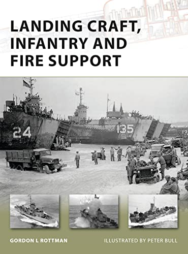 9781846034350: Landing Craft, Infantry and Fire Support (New Vanguard)