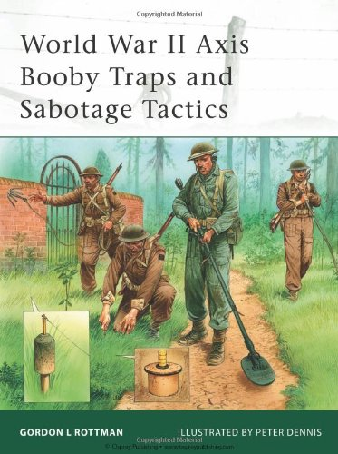9781846034503: World War II Axis Booby Traps and Sabotage Tactics (Elite)