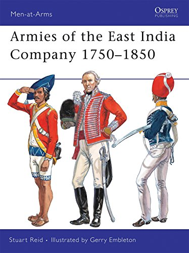 9781846034602: Armies of the East India Company 17501850 (Men-at-arms)