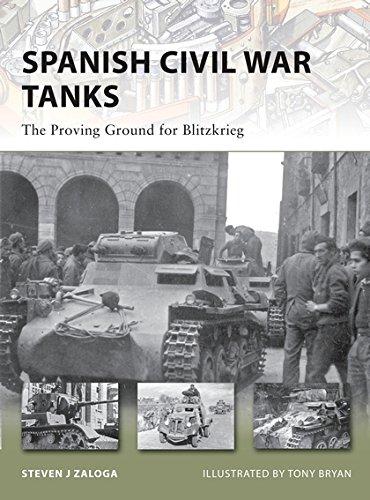 Spanish Civil War Tanks: The Proving Ground for Blitzkrieg (New Vanguard): Zaloga, Steven J.