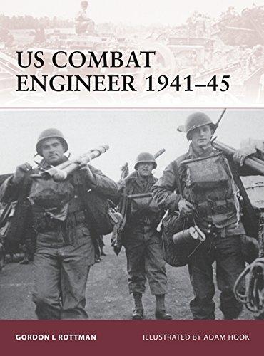 9781846035791: US Combat Engineer 1941-45 (Warrior)
