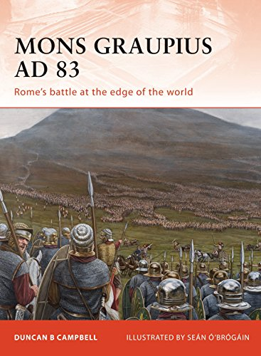 9781846039263: Mons Graupius AD 83: Rome's battle at the edge of the world (Campaign)