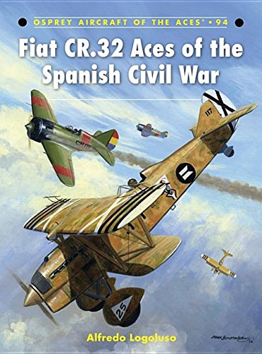 9781846039843: Fiat CR.32 Aces of the Spanish Civil War