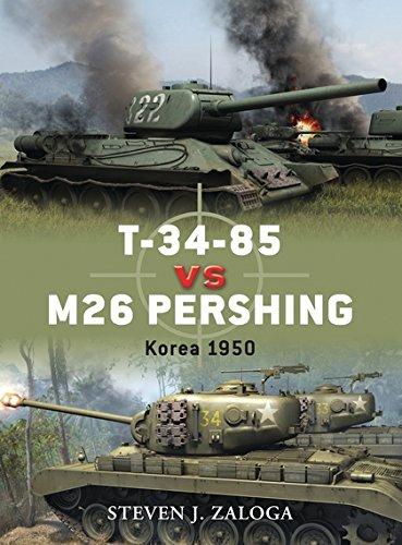 9781846039904: T-34-85 vs M26 Pershing: Korea 1950 (Duel)