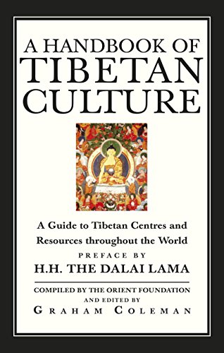 9781846043628: A Handbook Of Tibetan Culture: A Guide to Tibetan Centres and Resources Throughout the World