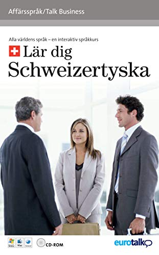 9781846062896: TALK BUSINESS ZWITSERDUITS/SUISSE ALLEMAND: Gevorderden. Doe goede zaken in het buitenland!: An Interactive Video CD-ROM - Intermediate Level