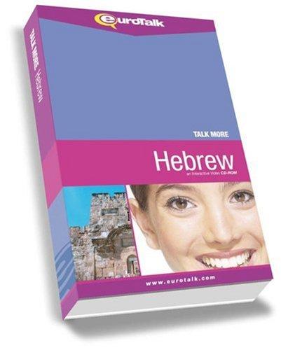 Talk More! Hebrew: An Interactive Video CD-ROM: EuroTalk Ltd.