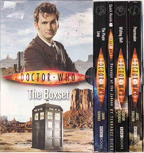 Doctor Who Box Set (Peacemaker, Wishing Well the Pirate Loop, Revenge of the Judoon)