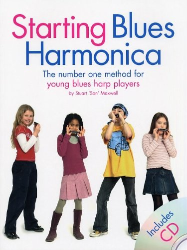 9781846090257: Starting Blues Harmonica Book/Cd