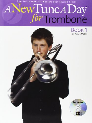 9781846090363: A New Tune A Day: Trombone (Bass Clef) - Book 1 (CD Edition)