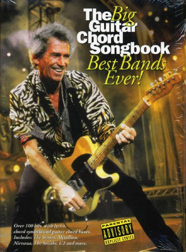 9781846090967: The Big Guitar Chord Songbook: Best Bands Ever!