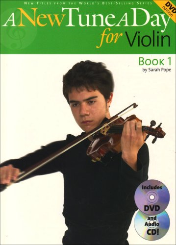 A New Tune A Day for Violin (New Tune a Day Book & CD + DVD): Sarah Pope