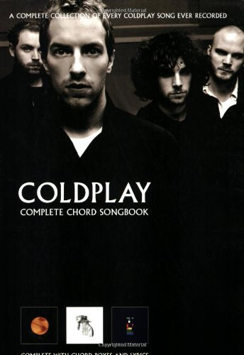 9781846092572: Coldplay: Complete Chord Songbook