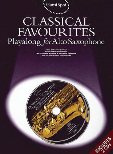9781846093067: Guest Spot Alto Sax Classical Favorites + 2Cd