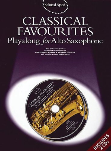 9781846093067: Guest Spot: Classical Favourites Playalong For Alto Saxophone Asax Boo