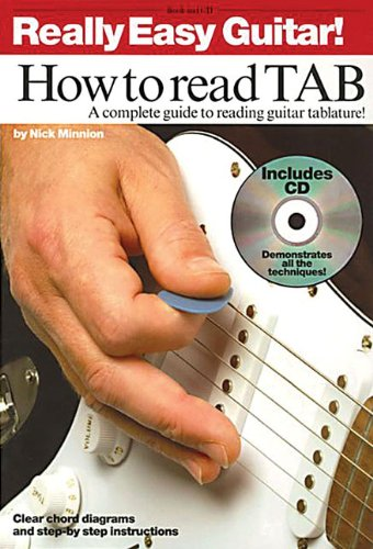 9781846093166: Really Easy Guitar! - How to Read TAB: A Complete Guide to Reading Guitar Tablature!