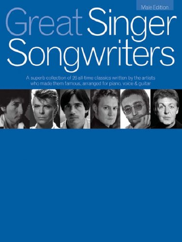 9781846093388: Great Singer Songwriters Male Edition Pvg