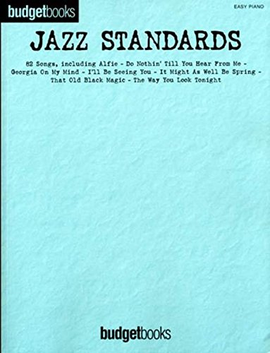 9781846093494: Budgetbooks: Jazz Standards (Easy Piano)