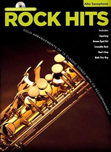 Rock Hits Instrumental Playalong: Alto Saxophone