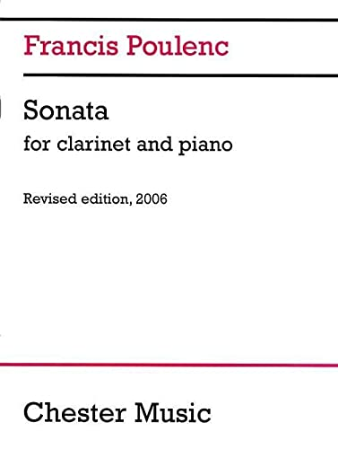 9781846093968: Sonata for Clarinet and Piano: Revised Edition, 2006