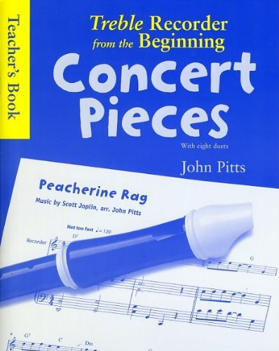 9781846094408: Treble Recorder from the Beginning - Concert Pieces: Teacher's Book
