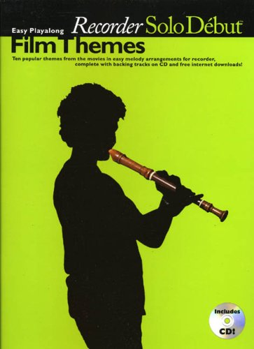 9781846094538: Film Themes: Easy Playalong Recorder (Solo Debut)