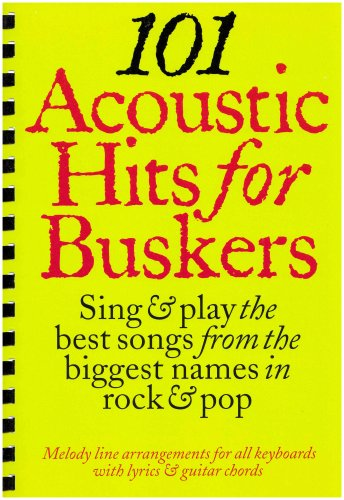 9781846094569: 101 Acoustic hits for Buskers