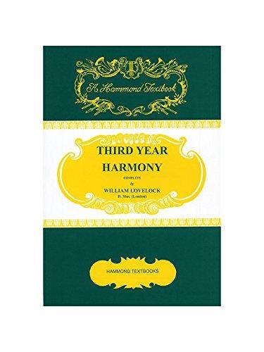 9781846095474: 3rd Yr Harmony