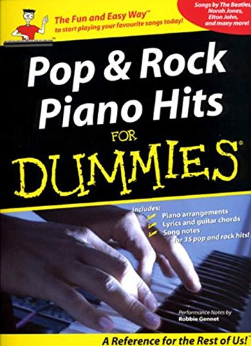 9781846095832: Pop And Rock Piano Hits For Dummies