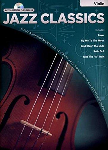 9781846095979: Jazz Classics Instrumental Play-Along: Violin (Book/CD)