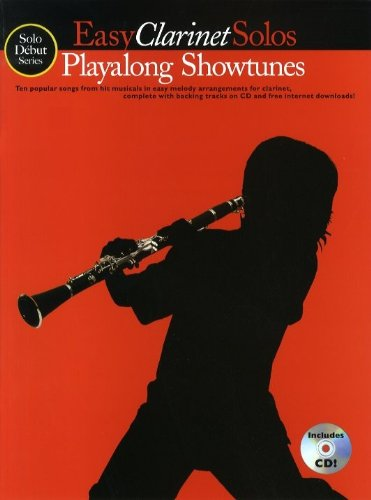 9781846096112: Playalong Showtunes: Easy Clarinet Solos (Solo Debut)