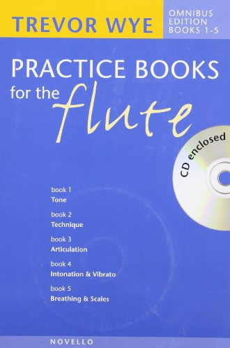 9781846096259: PRACTICE BOOKS FOR THE FLUTE OMNIBUS EDITION BOOKS 1-5 BOOK AND CD