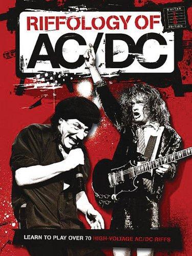 RIFFOLOGY OF AC/DC  GTR W/TAB: Simon Troup
