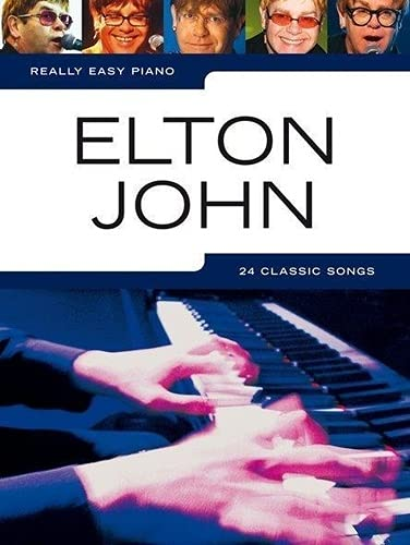 9781846097843: Really Easy Piano JOHN ELTON.