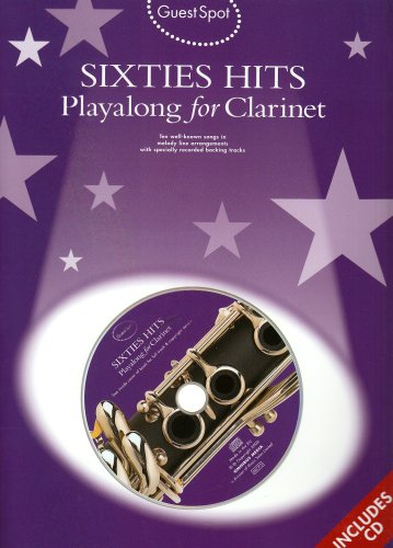 9781846098482: Playalong for Clarinet (Guest Spot Sixties Hits)