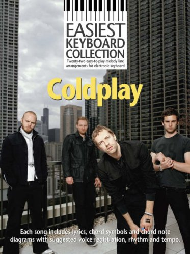"""Easiest Keyboard Collection: """"Coldplay"""""""