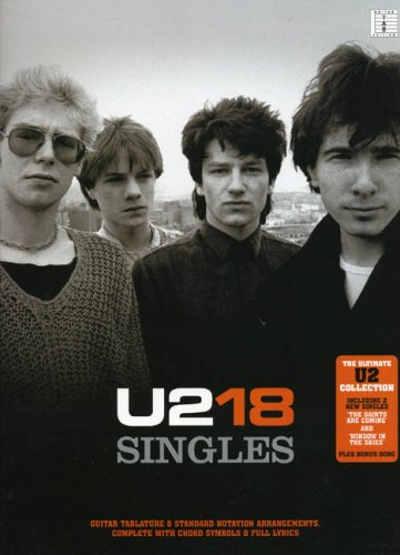 9781846098994: U2-18 SINGLES (Recorded Versions Guitar)