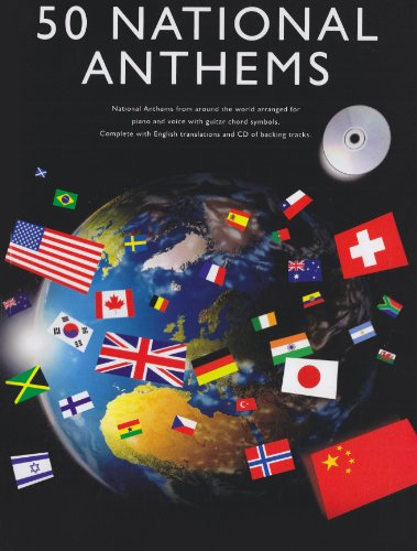 9781846099038: 50 National Anthems Pvg Book/Cd