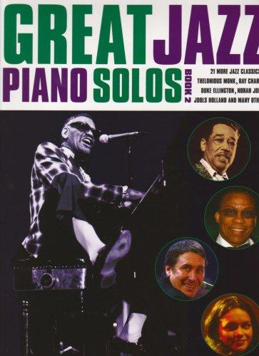 9781846099069: Great Jazz Piano Solos: Bk  2 - AbeBooks