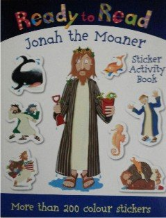 Jonah the Moaner Sticker Book: Bible Sticker: Page, Nick; Page,