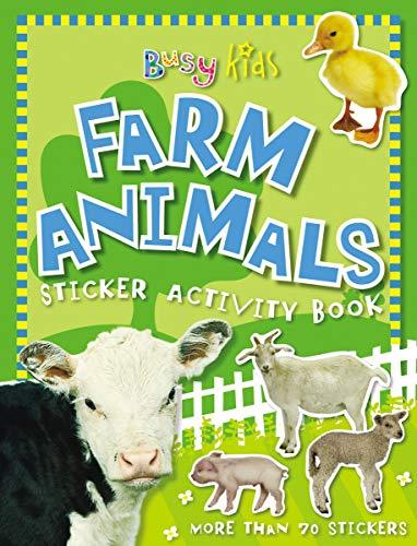 9781846106385: Busy Kids Farm Animals Sticker Activity Book (Busy Kids (Paperback))