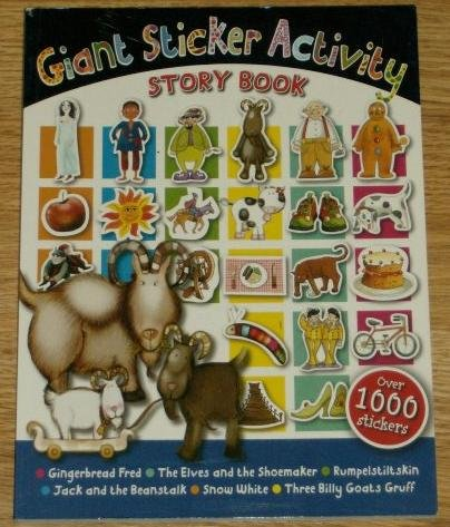 9781846106675: Giant Sticker Activities Story Book (Over 1,000 Stickers)