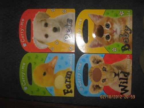 9781846107870: Carry Me Set of 4 (Farm Animals, Pets, Wild Animals, Baby Animals)