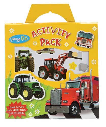 9781846108983: Tractors and Trucks Activity Pack (Busy Kids)