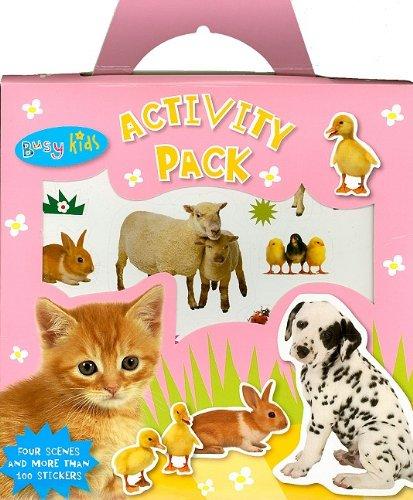 Baby Animals Activity Pack (Busy Kids): Make Believe Ideas