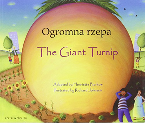 9781846112409: Giant Turnip Polish & English (Folk Tales)