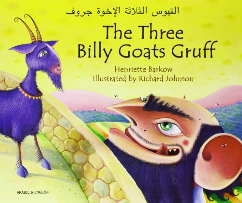 9781846112485: The Three Billy Goats Gruff in Arabic and English (English and Arabic Edition)