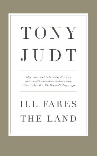 9781846143595: Ill Fares The Land: A Treatise On Our Present Discontents