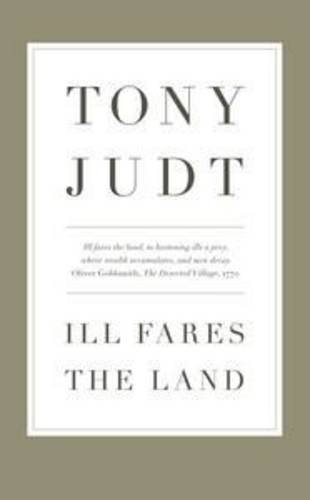 9781846143908: Ill Fares The Land: A Treatise On Our Present Discontents
